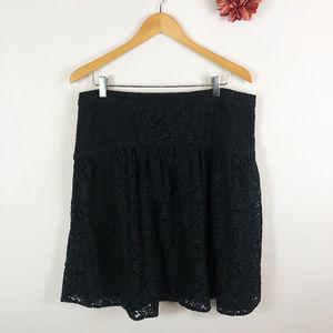 [LOFT] Ann Taylor Lace A-Line Skirt